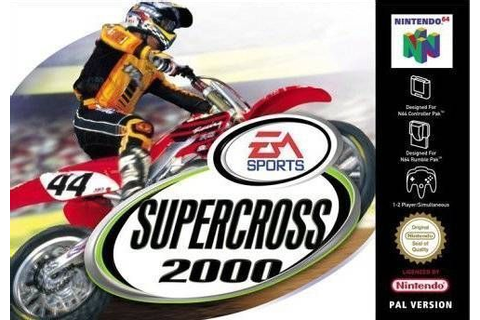Supercross 2000 ROM - Nintendo 64 (N64) | Emulator.Games