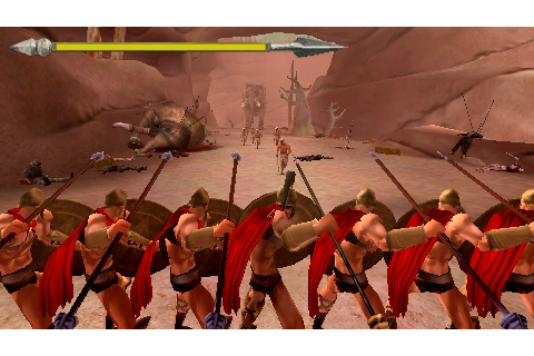 Best PSP games download: 300 March To Glory