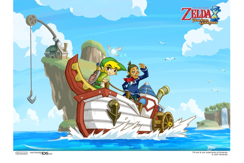 The Legend of Zelda: Phantom Hourglass Available on Wii U ...