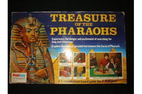 Treasure of the Pharaohs | Board Game | BoardGameGeek