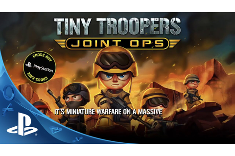 Tiny Troopers Joint Ops -- Features Trailer | PS4, PS3, PS ...