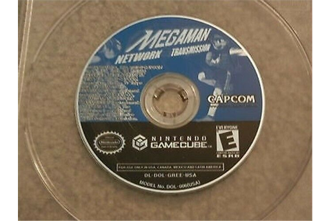 MEGA MAN NETWORK TRANSMISSION NINTENDO GAMECUBE GAME DISC ONLY ...