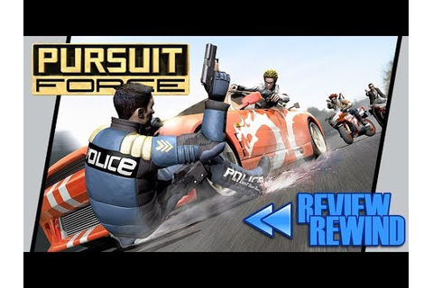 Review Rewind: Pursuit Force (PSP) - Defunct Games - YouTube
