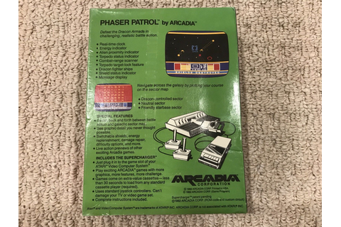 Atari 2600 VCS Phaser Patrol : scans, dump, download ...