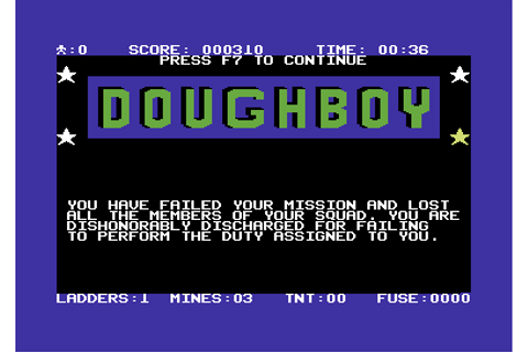 Download Dough Boy (Commodore 64) - My Abandonware