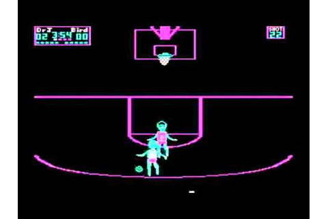 One on one. Dr. J vs Larry Bird - YouTube