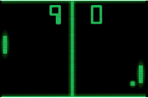 Revival of the old pong computer game with adsense