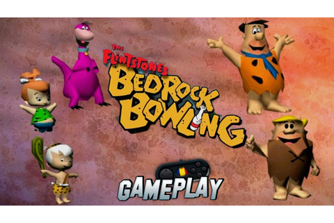 The Flintstones Bedrock Bowling PC Gameplay - YouTube
