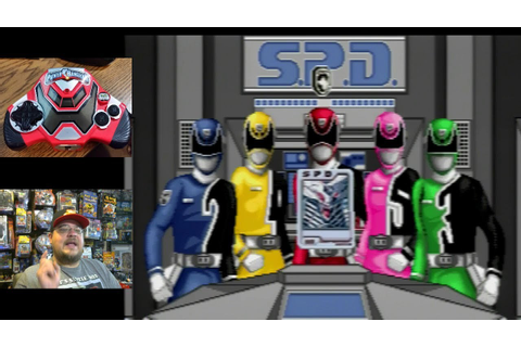 Power Rangers S.P.D. Plug & Play TV Games part 3 - Ringbah ...