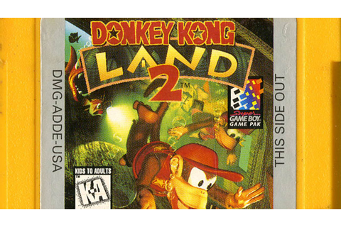CGR Undertow - DONKEY KONG LAND 2 review for Game Boy ...