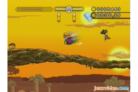 Gameplay Wario Land : The Shake Dimension : Niveau complet ...