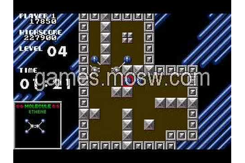 Atomix (PC) game, levels 1-5 - YouTube