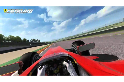Ferrari Virtual Academy F10 - Alonso @ Mugello first test ...