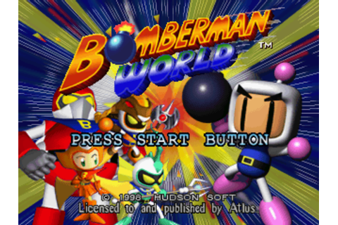 Bomberman World [SLUS-00680] ROM / ISO Download for ...