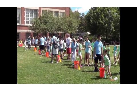 2013 Summer 2 Water Relay Race - YouTube