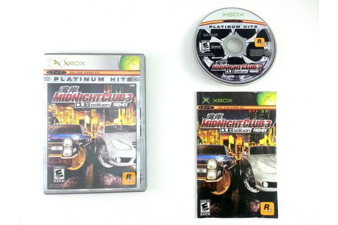 Midnight Club 3 Dub Edition Remix game for Xbox (Complete ...