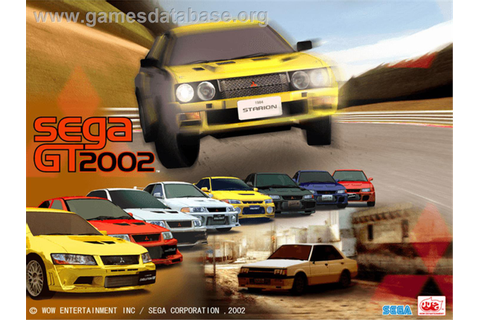 Sega GT 2002 - Microsoft Xbox - Games Database