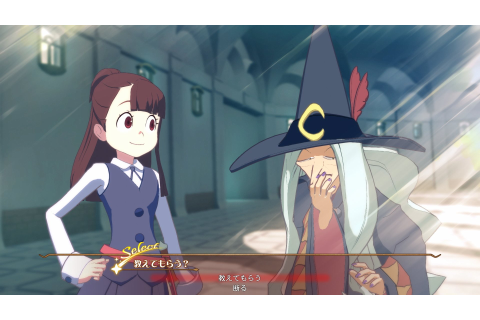 Little Witch Academia: Chamber of Time New Screenshots ...
