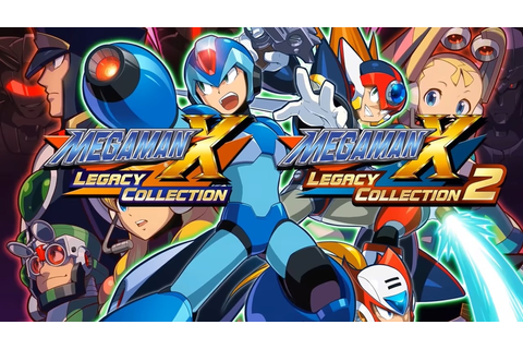 Mega Man X Legacy Collection 1 And 2 Has Got Rookies ...
