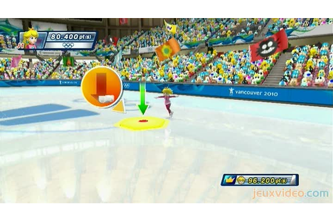 Gameplay Mario & Sonic aux Jeux Olympiques d'Hiver ...
