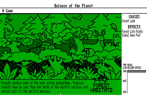 Скриншоты Balance of the Planet на Old-Games.RU