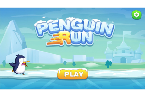 Penguin run Gameplay Android - YouTube
