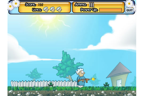 Play Granny's Garden - Free online games with Qgames.org