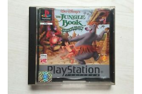 Disney's The Jungle Book Groove Party Playstation PS1 game ...