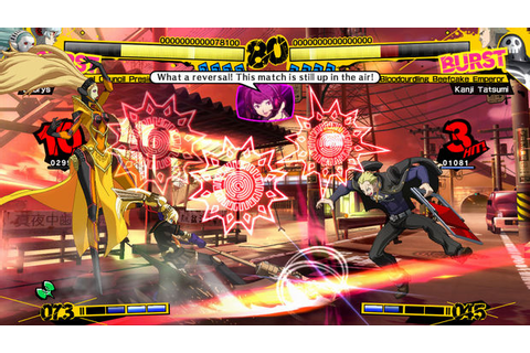 Review: Persona 4 Arena