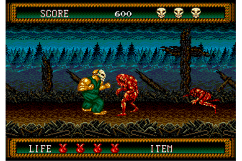 Play Splatterhouse 2 Sega Genesis online | Play retro ...