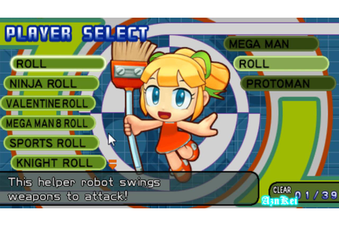 Megaman powered up roll download