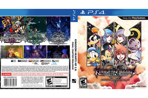 Kingdom Hearts HD 2.8 Final Chapter Prologue PlayStation 4 ...