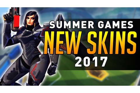 Overwatch - Summer Games 2017 SKINS DATAMINED! - YouTube