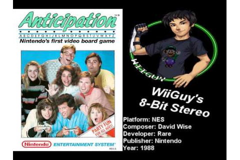 Anticipation (NES) Soundtrack - 8BitStereo - YouTube