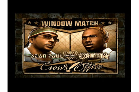 Def Jam Fight for NY - Sean Paul vs Elephant Man - YouTube