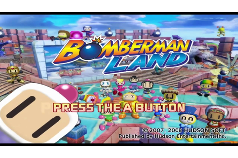Bomberman Land Wii Gameplay - YouTube