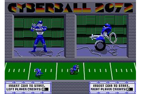 Cyberball - Videogame by Atari Games