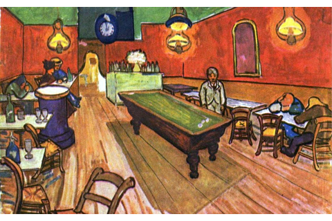 Vincent van Gogh The Night Cafe in the Place Lamartine in ...