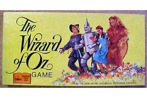 My Pop Cultured Life!: Game Time! The Wizard of Oz Board ...