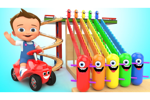 Learn Colors for Children with Baby Game Play Wooden Toy ...