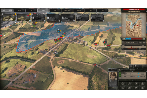 Steel Division: Normandy 44 - Three-Phase Gameplay