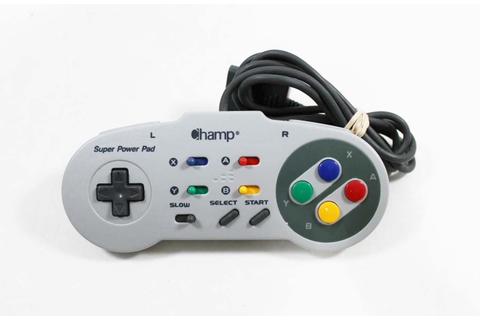 Super Nintendo SNES Champ Super Power Pad