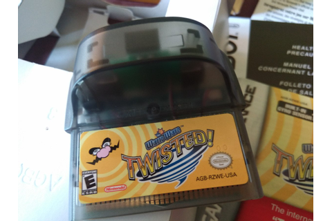 Wario Ware Twisted Game Boy Advance Nintendo - $ 1,300.00 ...