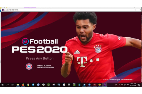 eFootball Pro Evolution Soccer 2020 Demo Unlocker - YouTube