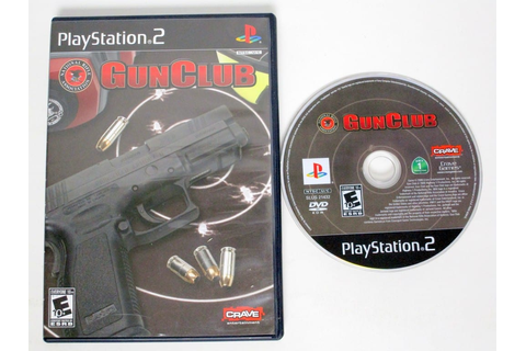 NRA Gun Club game for Playstation 2 | The Game Guy