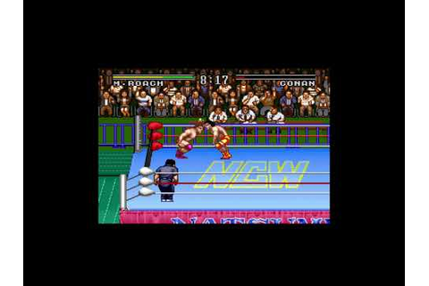 Natsume Championship Wrestling SNES playthrough - YouTube