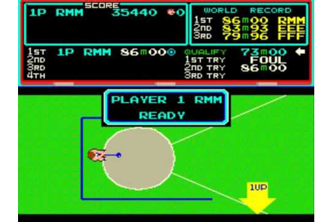 Track And Field Arcade Game(Complete/Completo) - YouTube
