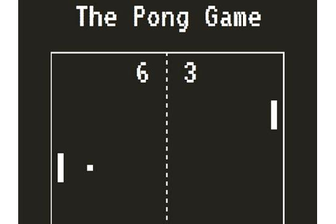 Fritzing Project – LCD Pong Game