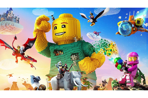 LEGO Worlds Trailer (PS4 / Xbox One - 2017) - YouTube