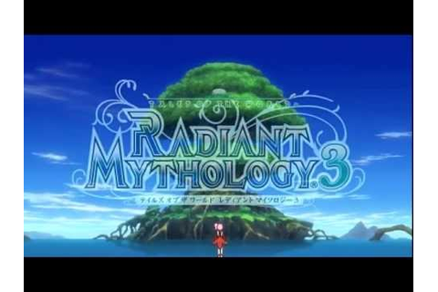 [PSP] Tales of the World Radiant Mythology 3 - Opening ...